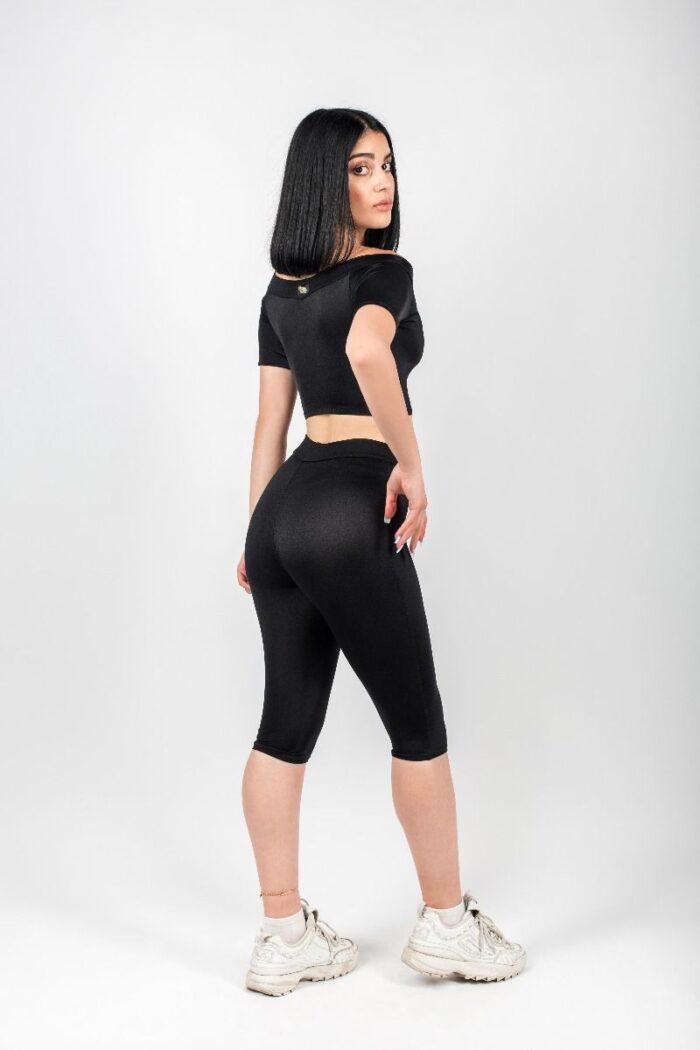 Lorena Cheeky Black Top 3