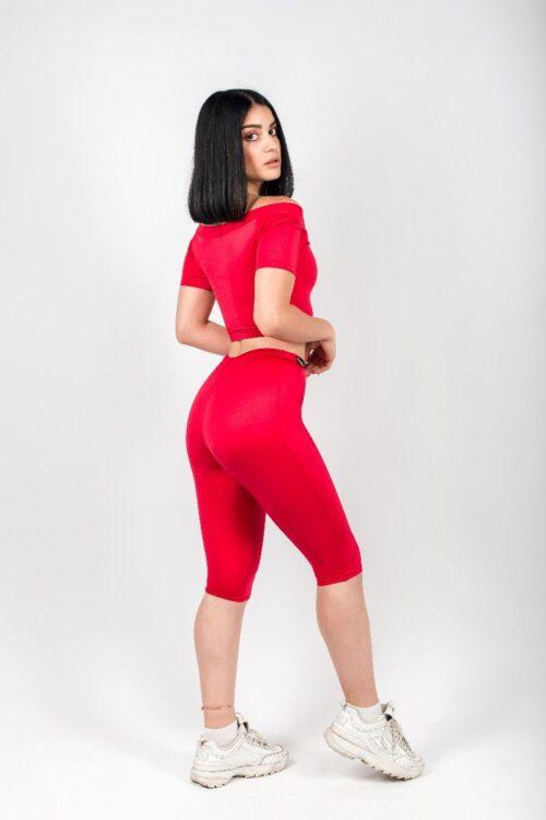 Lorena Peachy Red Top 2