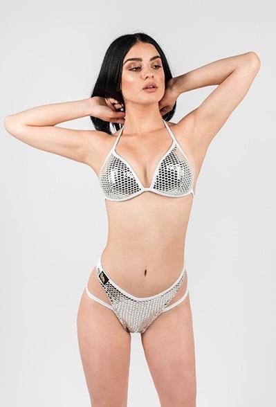 Selene Silver Glaze Bikini 2